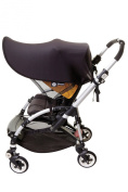 DreamBaby L286 - Strollerbuddy Extenda-Shade Large - Black