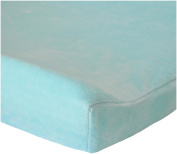 Oliver B Minky Changing Pad Cover, Sea Green
