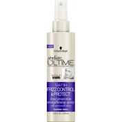 Schwarzkopf Styliste Ultime Satin Frizz Control & Protect Heat Protection Straightening Spray, 200ml