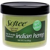 Softee Indian Hemp Hair & Scalp Treatment, 90ml