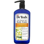 Dr.Teal's Comfort & Calm Pure Epsom Salt Body Wash, 710ml