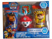 Nickelodeon Paw Patrol Rescue Berry Scented Soap & Scrub Set, 4 pc