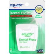 Equate Mint Waxed Dental Floss