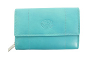 Ladies Leather Purse/ Wallet Double Clutch Bag By London Leather Goods