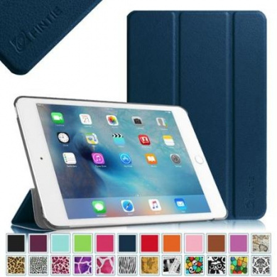 Fintie Apple iPad mini 4 2015 Release Case - Ultra Slim Lightweight Stand Smart Cover Auto Sleep/Wake, Navy