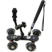 Vidpro SK-22 Professional Skater Dolly for Digital SLR Cameras & amp; Video Camcorders
