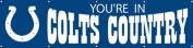 Party Animal PA-BYCC Indianapolis Colts Eight Foot Banner