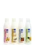 Dead Sea Spa Care DEADSEA-35 Almond Serenity Cucumber-Melon and Vanilla Lotion Set - 240ml each bottle