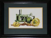 Midway Memorabilia Tractor Trailer John Deere Artist Print Frame