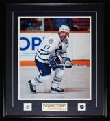 Midway Memorabilia Wendel Clark Toronto Maple Leafs 16X20 Frame