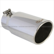 AFE 4990002 Mach Force Xp Polished Stainless Steel Exhaust Tip 10cm x 5 Out x 12 L In.