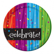 Creative Converting 425683 23cm . Milestone Celebrations Dinner Plates - Case of 96