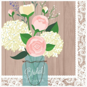 Creative Converting 660706 Rustic Wedding - Lunch Napkins Bridal Shower - Case of 192