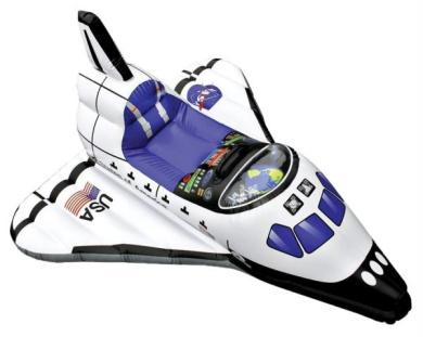 MorrisCostumes ARAE2300 Space Shuttle Inflate Ages 3 Up