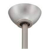 Matthews Fan SlantMt-BRBR Slant Ceiling Mount-Brushed Brass