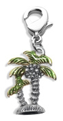 Whimsical Gifts 2550S Palm Trees Charm Dangle in Silver