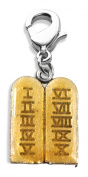 Whimsical Gifts 1063S Ten Commandments Charm Dangle in Silver