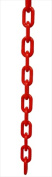 VIP Crowd Control 1883-50 3.8cm . dia. Plastic Chain - 15m Length Red