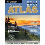 Universal Map 15035 North America Large Print Road Atlas