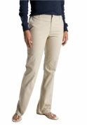 Dickies FP121DS 16 S Womens Slim Boot Stretch Twill Pant Desert Sand 16 Short