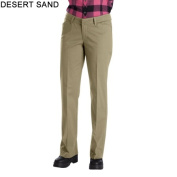 Dickies FP321DS 8 S Womens Relaxed Straight Stretch Twill Pant Desert Sand 8 Short