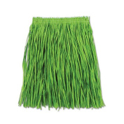 Beistle 54581-G Adult Mini Hula Skirt Green - Pack Of 12