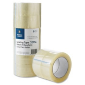 Business Source BSN32956 Packaging TapeAdhesive3 in. Core1.220cm . x 50m 6-PK CLEAR