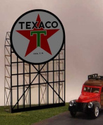 5181 Lg Model Texaco animated & Lighted Billboard by Miller Signs