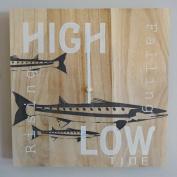 Tide Clock Timer - Handmade - Nautical - For the Fisherman - Coastal