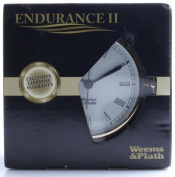 Weems and Plath Endurance II 127.8lz Clock with Roman Numerals, Brass