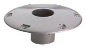 Attwood Corporation 238312-1 23cm Round Socket Base