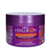 HYALURON Professional Hair Care revitalising Hair mask/Hair balm 'Rejuvenation and Care' with hyaluronic acid, 500ml