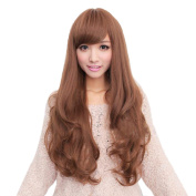 Cexin New Style Fashion Sexy Long Wavy Curly Hair Wigs Cheap Synthetic Women Wig Cosplay Party Wigs