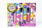 Badgequo Chit Chat Lip Smacking - 3 piece set - Perfect Christmas Present