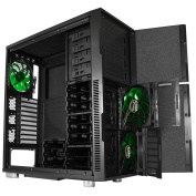 Nanoxia Deep Silence 5 Big Tower Case Fits XL-ATX & E-ATX Motherboard, Large Water Cooler Ready, with 6 Fan Controllers - Black
