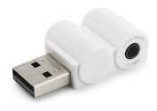 NRG Tech TRRS CTIA / AHJ/ 4 Pole USB Audio Adapter- Designed for Apple Earpods or other compatible VOIP/ Skype headsets