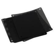 120mm PVC Black PC Cooler Fan Dust Filter Dustproof Case Cover Computer Mesh Pack of 10