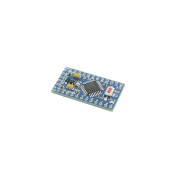 Holdding Improved Version of Pro Mini Atmega328 5V 16MHz for Arduino IDE with 1 ISP Pin