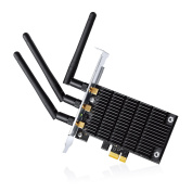 TP-LINK Archer T9E AC1900 Dual Band Wireless PCI Express Adapter, 5Ghz 1300Mbps + 2.4Ghz 600Mbps, Beamforming, 3T3R