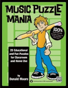 Alfred 00-34727 MUSIC PUZZLE MANIA-BK & CD