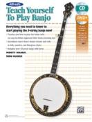 Alfred 00-42730 TEACH YRSLF BANJO-BK & CD & DVD