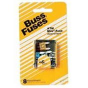 Bussmann Fuses Mini Fuse Assortment Kit BP/ATM-A8-RP