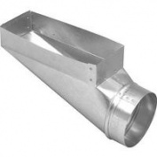 Imperial Manufacturing Duct End Boot 3-1/4 X 25cm X 10cm GV0650