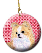 Carolines Treasures SS4473CO1 7.1cm x 7.1cm . Chihuahua Ceramic Ornament