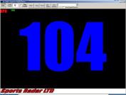 Sports Radar SR-PC-02 Radar Gun Speed Acquisition Software