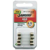 Jandorf Specialty Hardw Fuse Agc .75A Fast Acting 60625