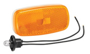 Bargman 34-59-002 Clearance Light No. 59 Amber With White Base 8 x 10cm x 3.8cm .