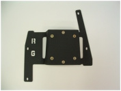 Rugged Gear 10146 Compact Floor Mount 2010-Up Polaris Ranger Midsize 2010 Up Adapter Plate