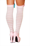 Roma Costume 14-ST4421-AS-O-S Clown Stocking Bows One Size