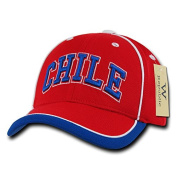 Decky WR100-CHI The Tournament Jersey Cap Chile